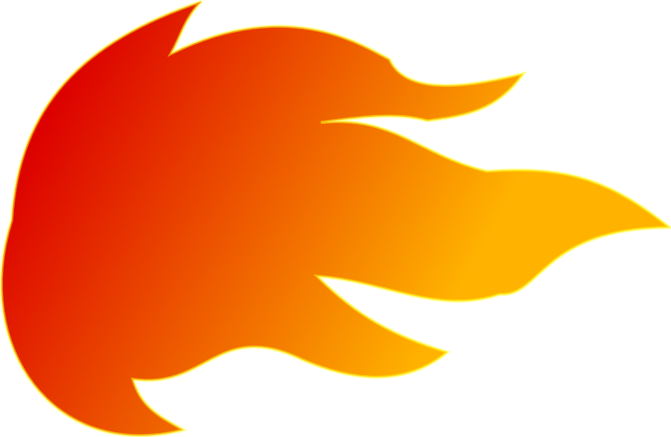Free vector graphic: Fire, Blast, Meteor, Fireball.