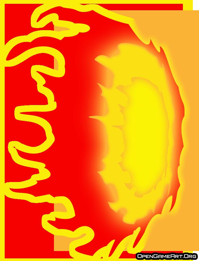 Fire blast.
