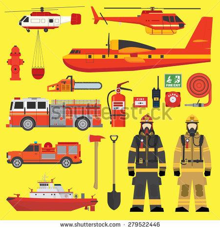Fireboat Stock Vectors & Vector Clip Art.