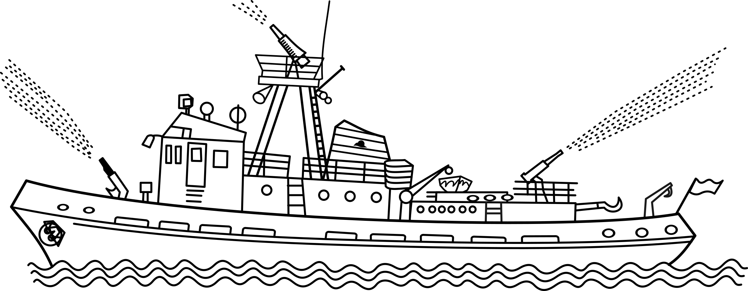 Fire boat clipart Clipground