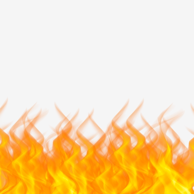 Fire Flames Border From Lower Clip Art, Fire, Fire Png, Fire Clipart.