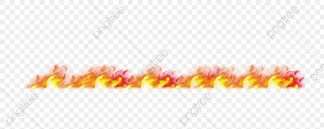 Burning Fire, Fire, Effect Of Fire, Fire Border PNG Transparent.