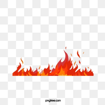 Flame Border Png, Vector, PSD, and Clipart With Transparent.