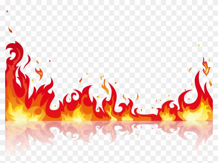 Clip Art Flames Jpg Transparent.