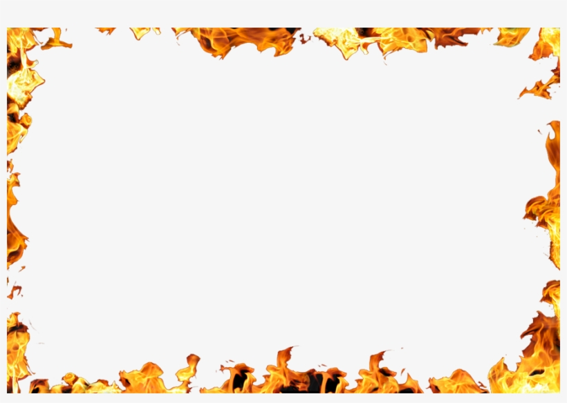 Fire Border Png.
