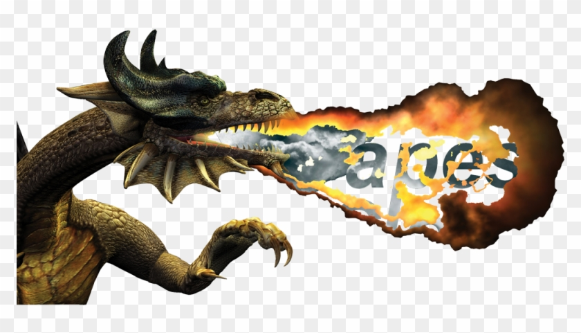 Fire Breathing Dragon, HD Png Download.