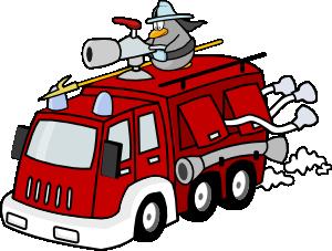 Fire Engine Clip Art at Clker.com.