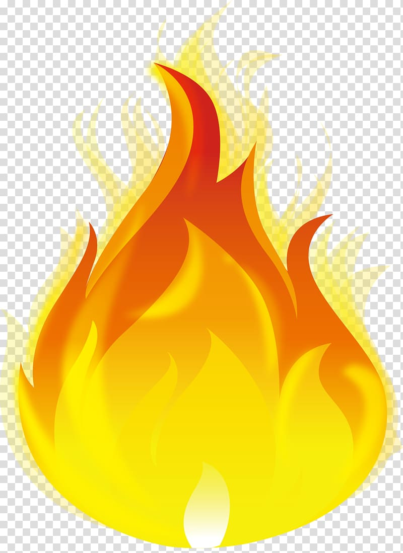 Fire illustration, Burning fire transparent background PNG.
