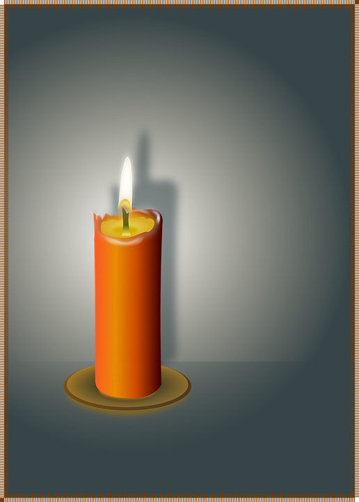 Free vector graphic: Candle, Flame, Wax, Fire, Light.