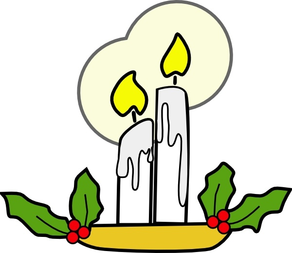 Candle Light clip art Free vector in Open office drawing svg.
