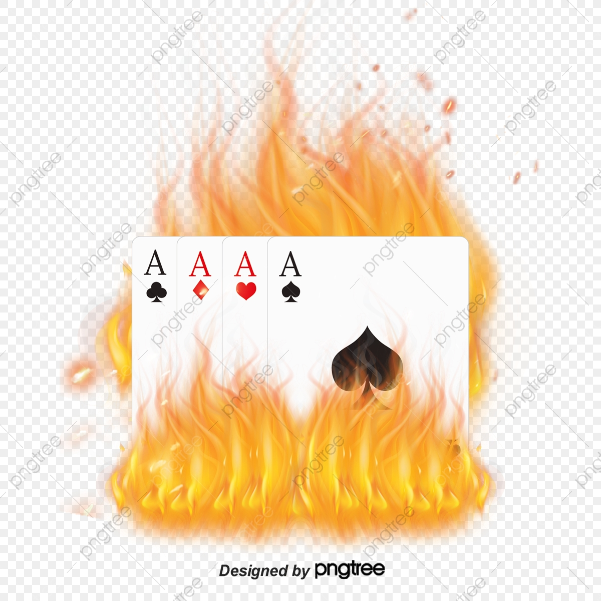 Blue Fire Card, Poker, Card, Flame PNG Transparent Clipart Image and.