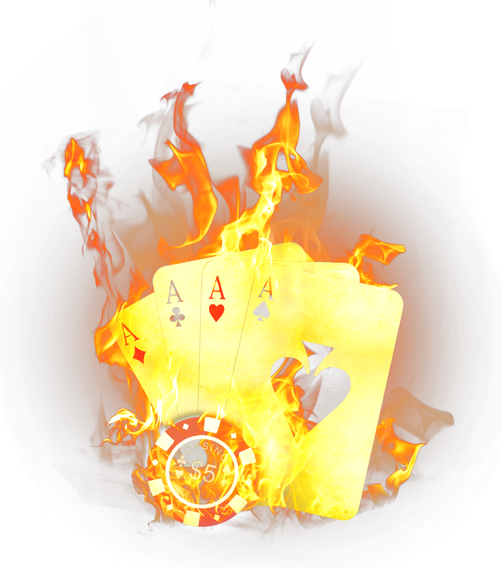 scplayingcards cards game fire flames yellow ftesticke.