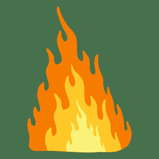 Blazing fire cartoon.