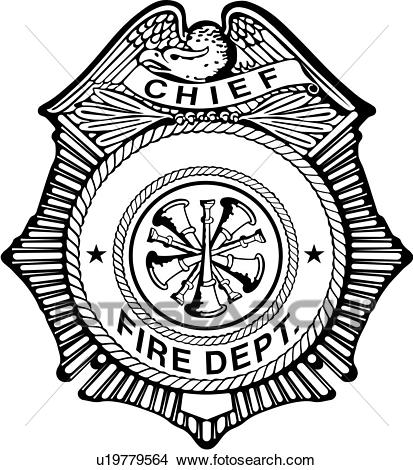 , badge, chief, department, emergency, emergency services, enforcement,  fire, law, service, shield, badges, Clipart.