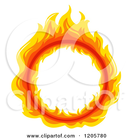 Fire ring clipart.