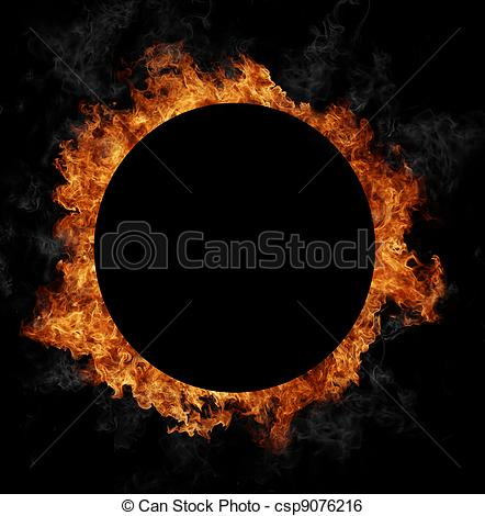 Stock Illustration of Fire ring.
