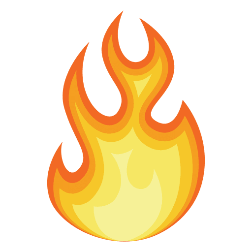 Animation Fire Drawing Clip art.