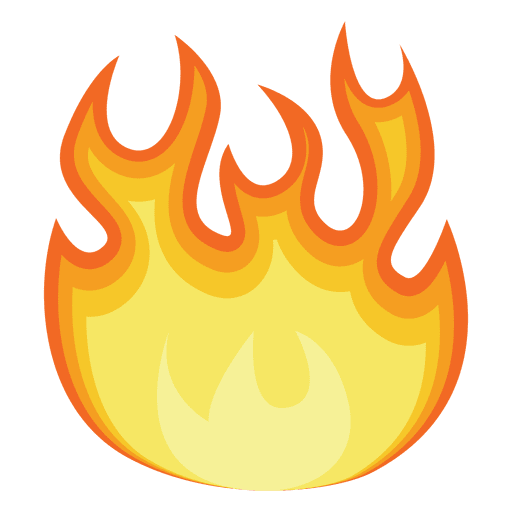 Flame Animation Clip art.