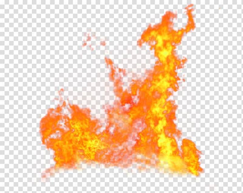 Flame illustration, Fire Flame, Red Fresh Flame Effect.