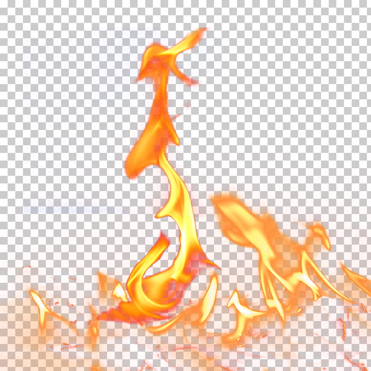 Fire Computer file, Fire pillar burning, flame illustration.
