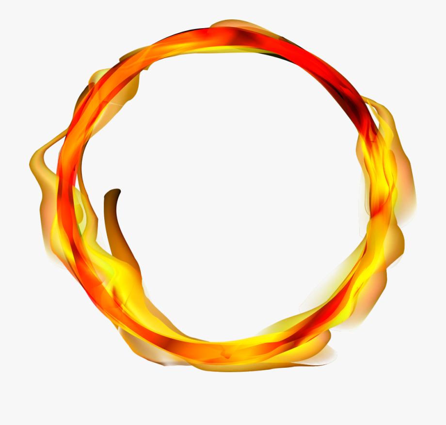 Fire Of Ring Vector Flame Png File Hd.