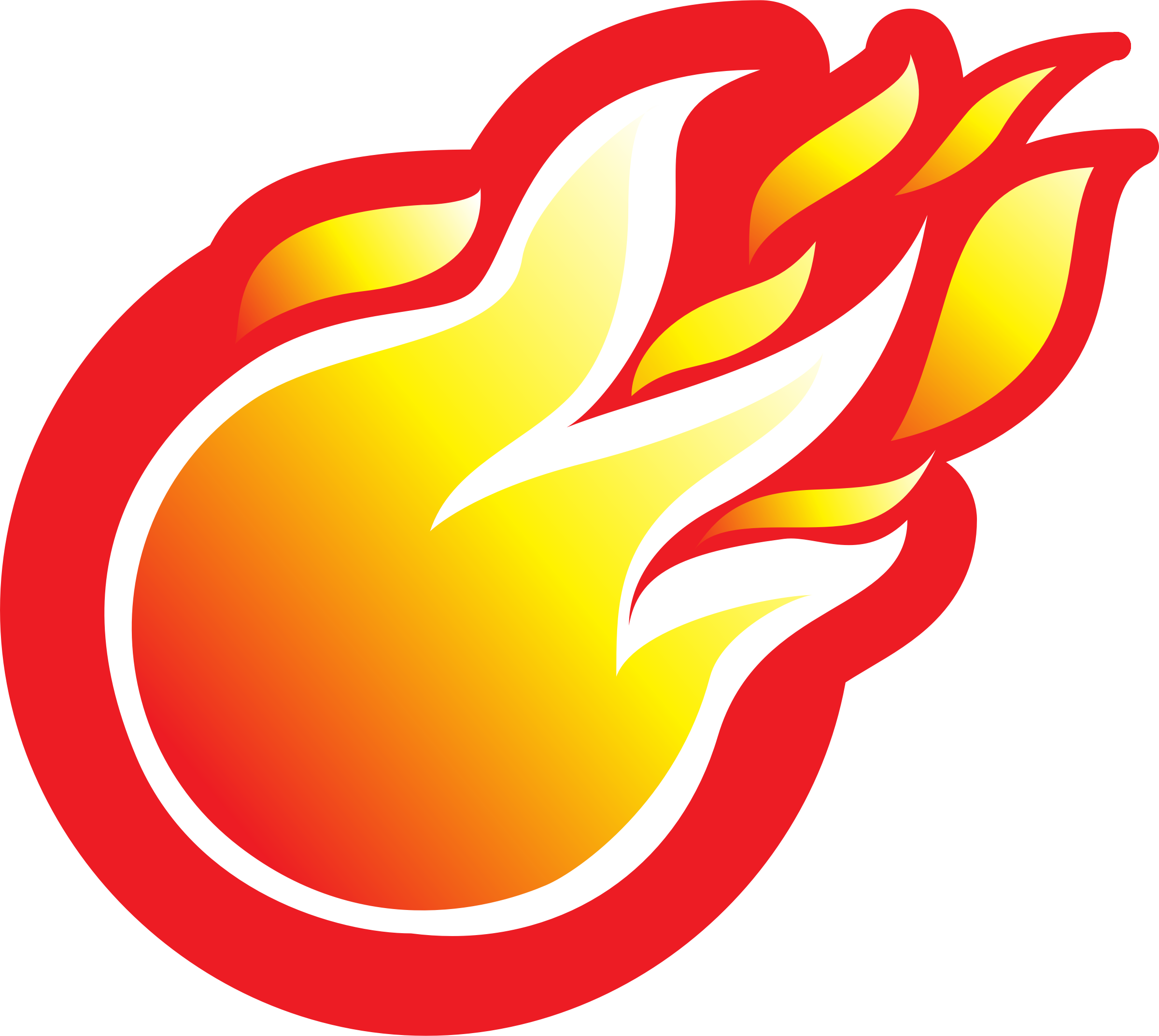 Flame fire clipart 6 image #6980.