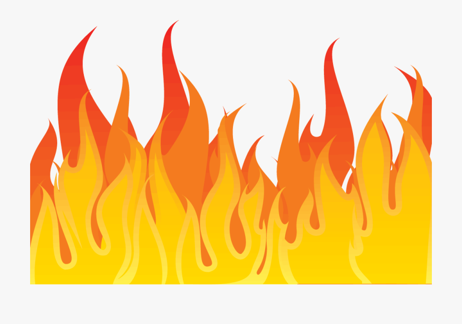 Flame Clipart Transparent Background Pencil And In.