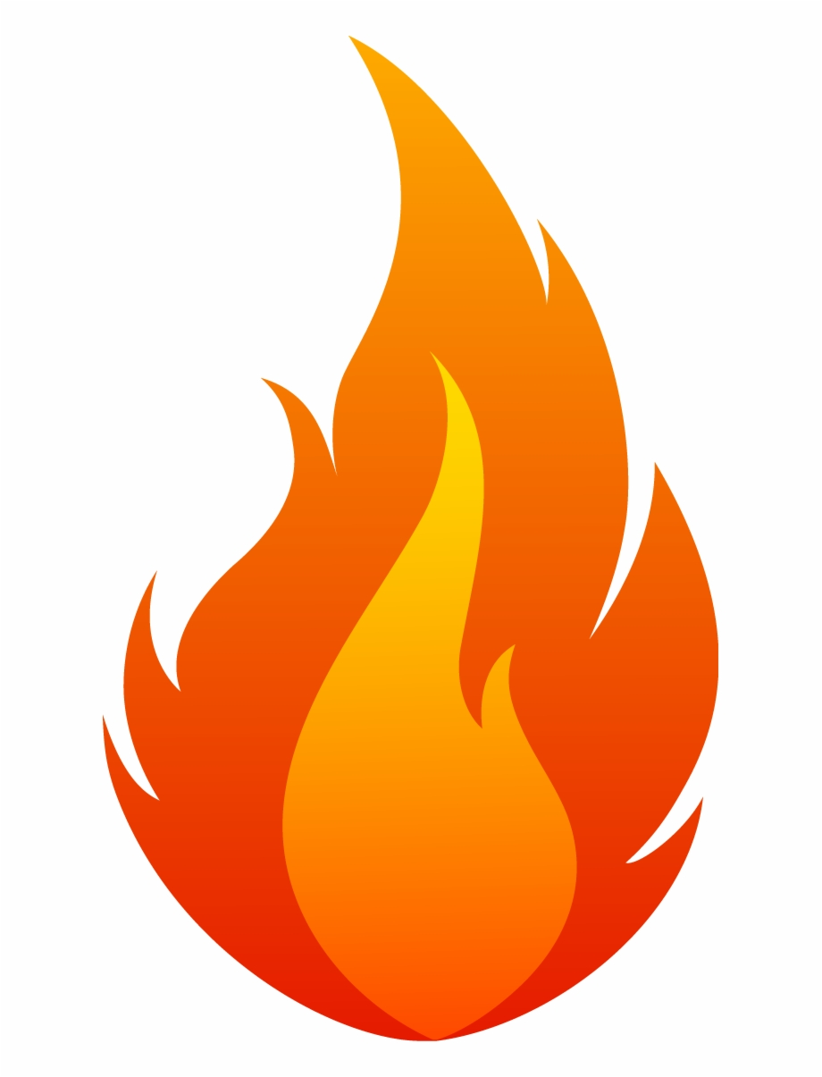 Flame, Fire 02 Png.