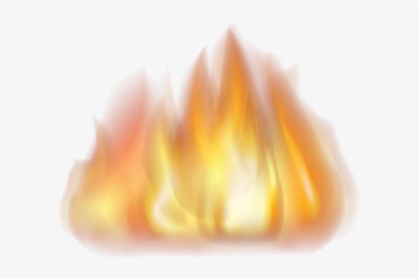 Fire Png Transparent Clip Art Image.