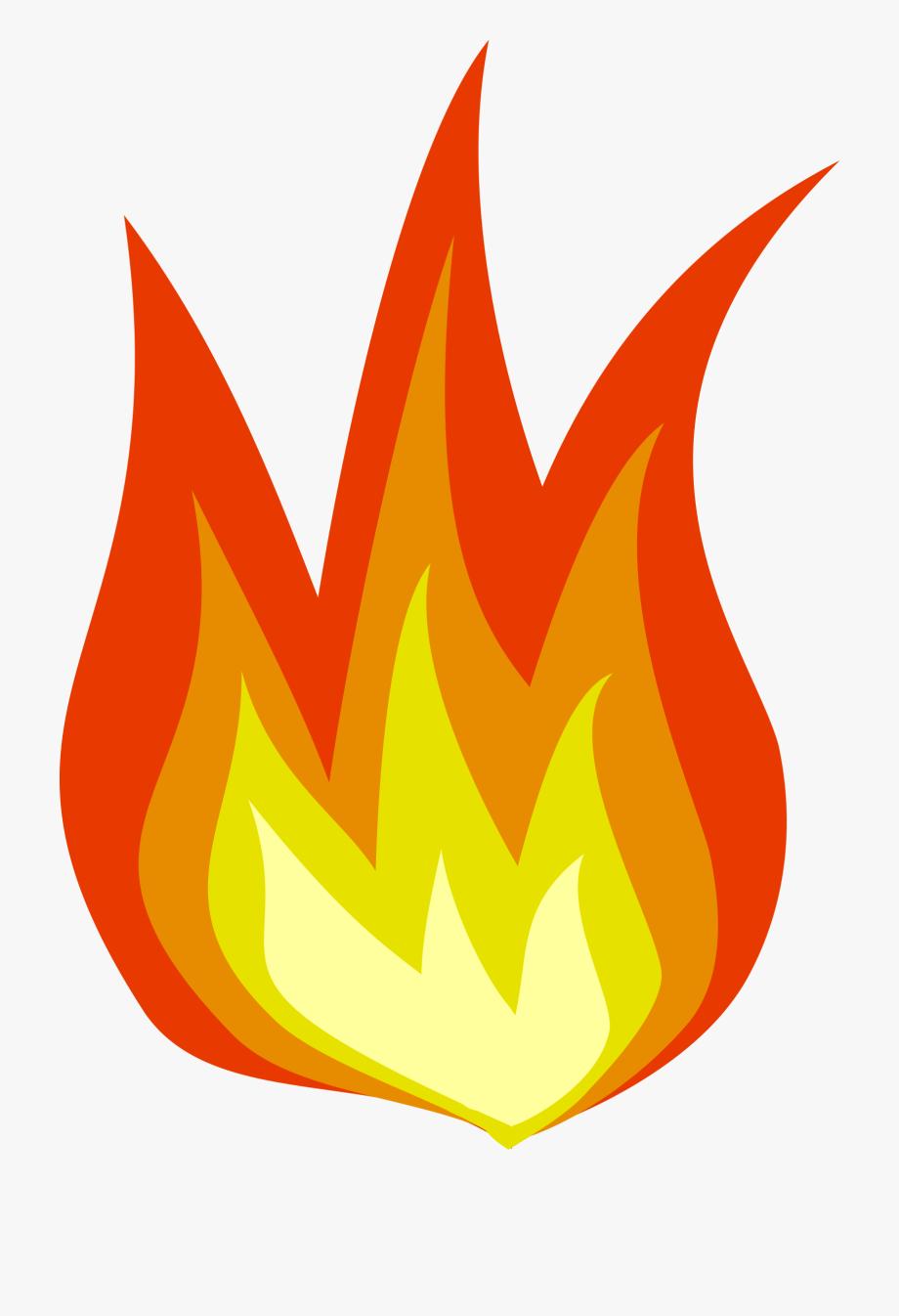 Fire Clipart Transparent Background #4514.