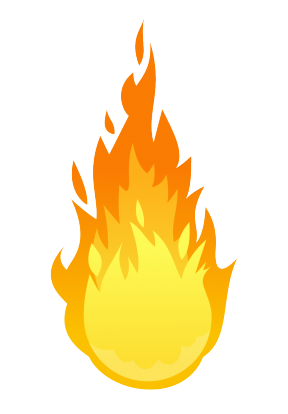 Fire Clipart Transparent Background.