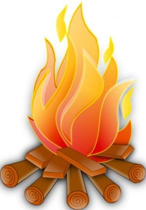 Fire Clip Art Video.