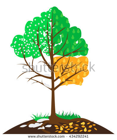Burning Forest Trees Fire Flames Natural Stock Vector 127760924.