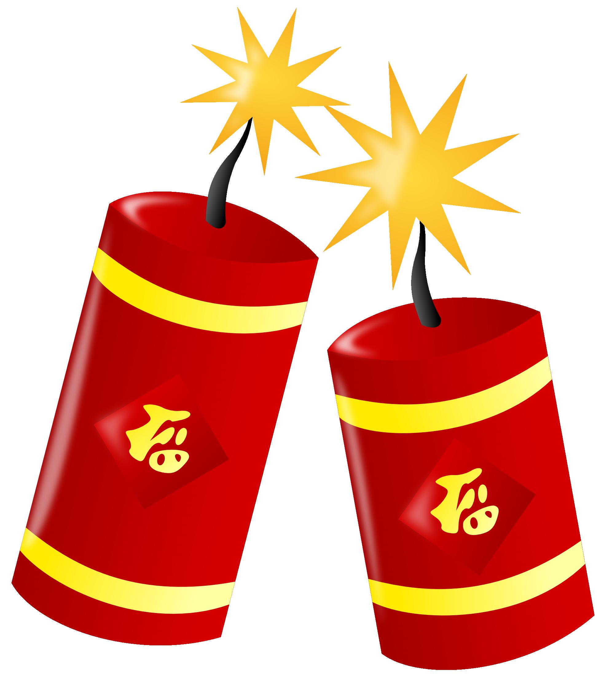 Firecracker Vector Clipart.
