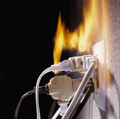 Restoration Recovery Services Fire Damage Risk Electrical Fires.