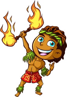 Fire Dancer Clipart.