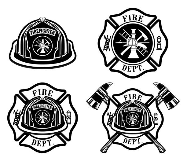 Best Fire Station Illustrations, Royalty.