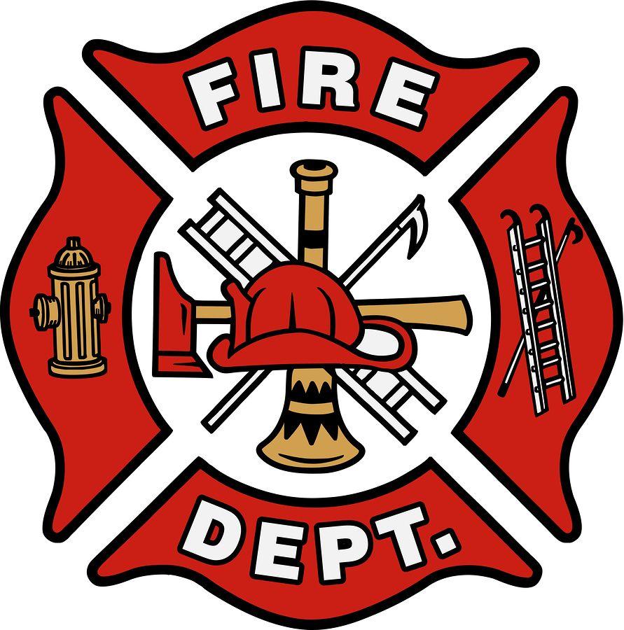 Fire Dept Blank Logo.