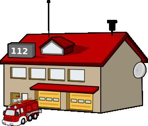 Fire Station clip art.