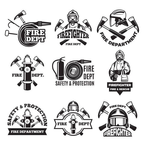 Best Firefighter Illustrations, Royalty.