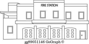 Building Fire Cartoon.