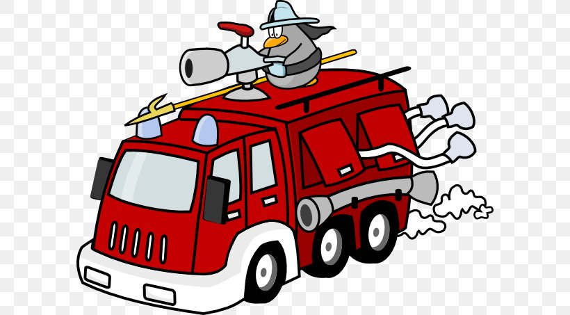 Fire Engine Firefighter Clip Art, PNG, 600x453px, Fire.