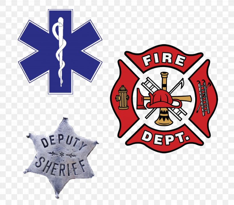 Chicago Fire Department Firefighter Fire Station Logo, PNG.