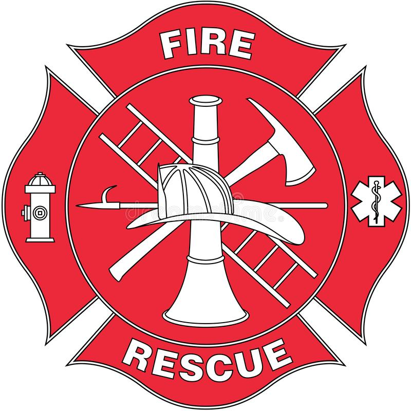 Fire Rescue Logo Stock Illustrations.