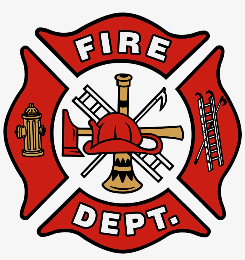 The Fire Department Logo Is Called The Maltese Cross.