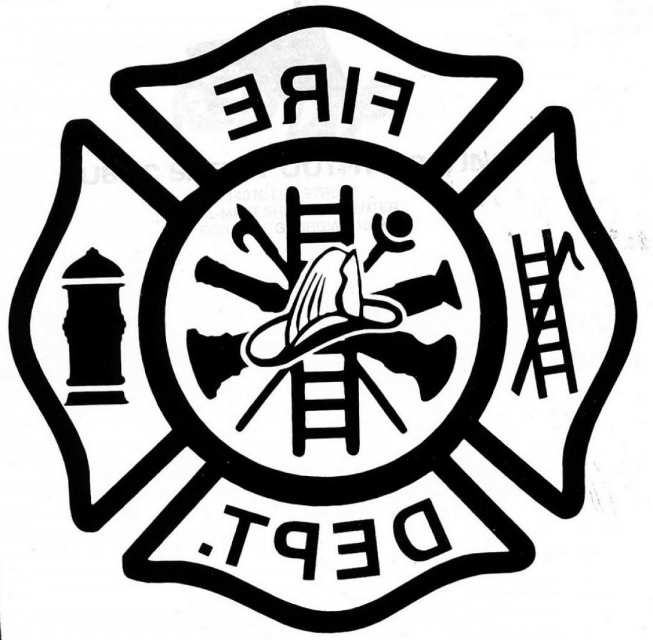 Fire Department Drawing.