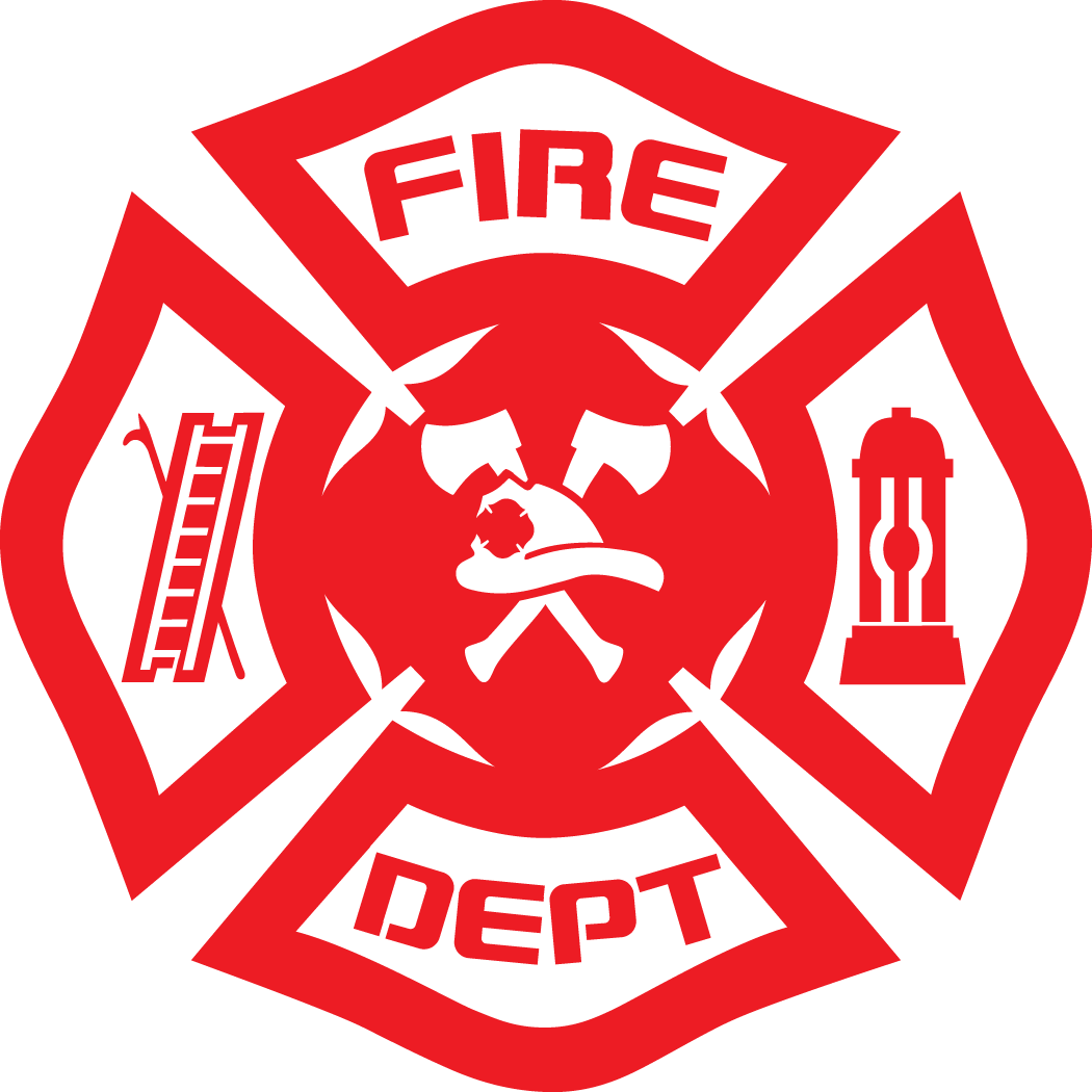 Fire Department Logo Vector.