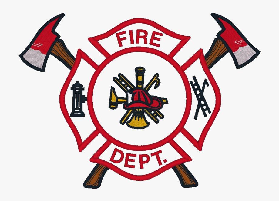 Firefighter Badge Png Transparent Image.