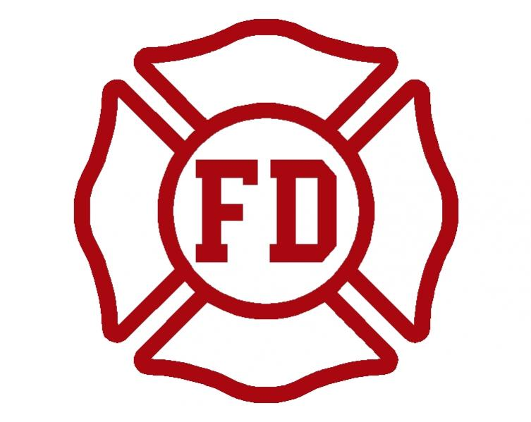 Fire Department Maltese Cross Clip Art N11 free image.