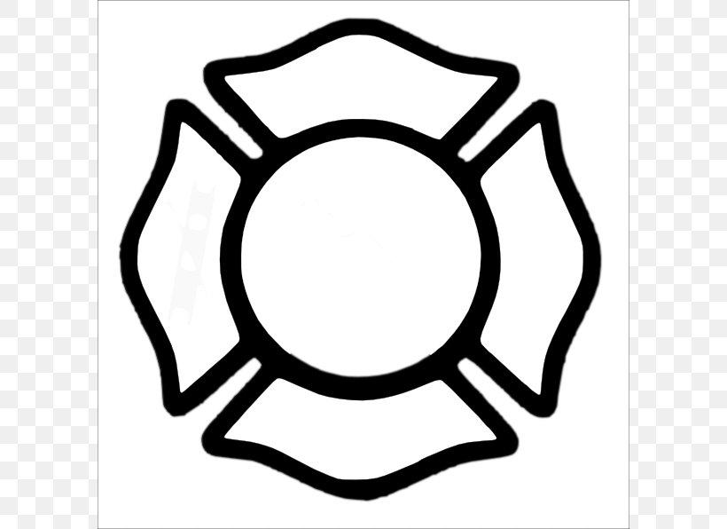 Maltese Cross Firefighter Fire Department Clip Art, PNG.
